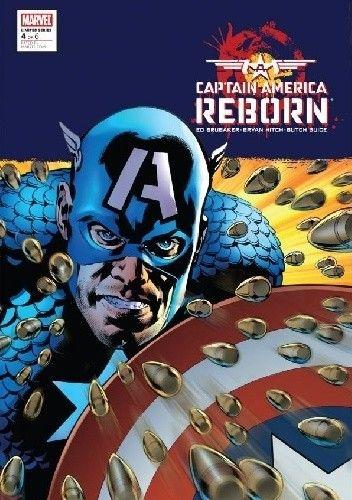 Okładka książki Captain America: Reborn #4