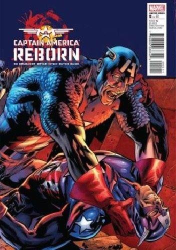 Okładka książki Captain America: Reborn #5
