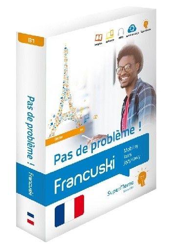 Okładka książki Francuski. Pas de problème ! Średni