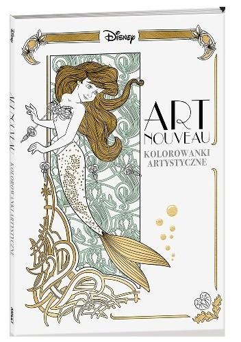 Okładka książki Art nouveau. Kolorowanki artystyczne