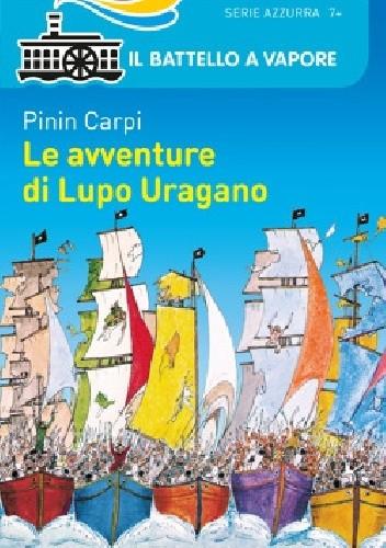 Okładka książki Le avventure di Lupo Uragano