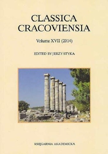 Okładka książki Classica Cracoviensia. Volume XVII (2014)