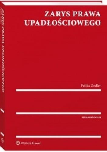 Okładka książki Zarys prawa upadłościowego
