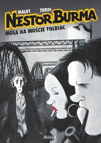 Okładka książki Nestor Burma - 1 - Mgła na moście Tolbiac