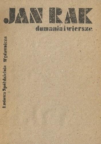 Okładka książki Dumania i wiersze