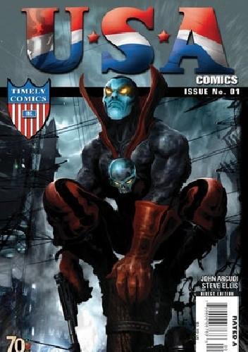 Okładka książki USA Comics 70th Anniversary Special