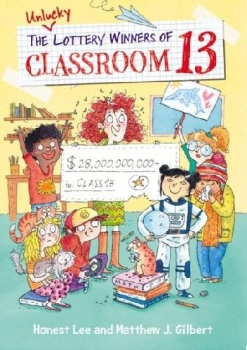 Okładka książki Pechowa klasa nr 13
