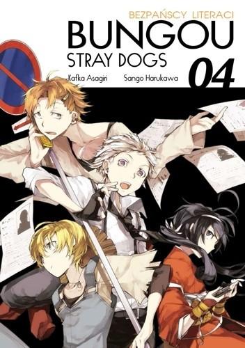 Okładka książki Bungou Stray Dogs - Bezpańscy Literaci #4