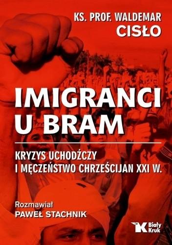 Okładka książki Imigranci u bram. Kryzys uchodźczy i męczeństwo chrześcijan XXI w.