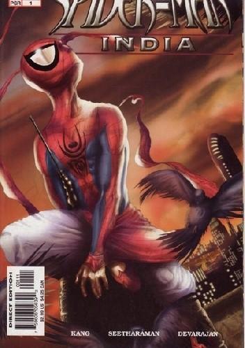 Okładka książki Spider-Man: India