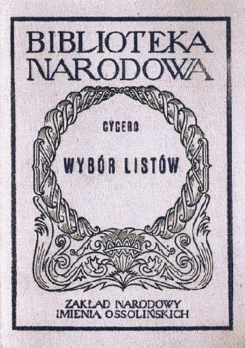 Okładka książki Wybór listów