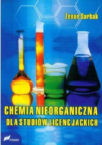 Okładka książki Chemia nieorganiczna dla studiów licencjackich