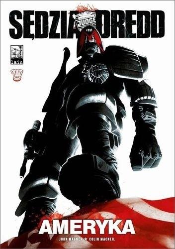 Okładka książki Sędzia Dredd - Ameryka