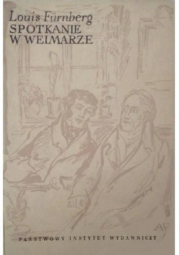 Okładka książki Spotkanie w Weimarze