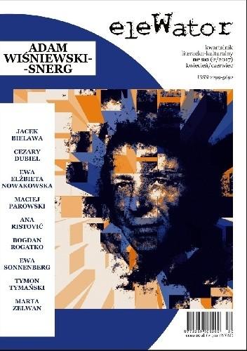 Okładka książki eleWator nr 20 (2/2017) - Adam Wiśniewski-Snerg