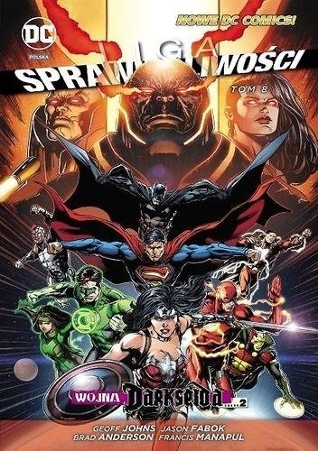 Okładka książki Liga Sprawiedliwości: Wojna Darkseida - Część 2