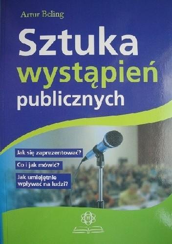 Okładka książki Sztuka wystąpień publicznych