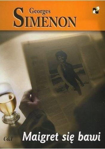 Okładka książki Maigret się bawi