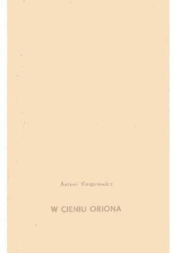 Okładka książki W cieniu Oriona
