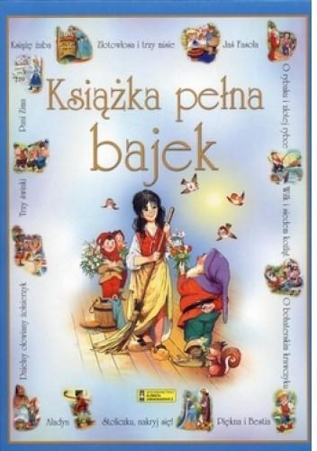 Okładka książki Książka pełna bajek