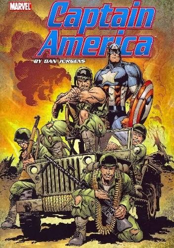 Okładka książki Captain America by Dan Jurgens