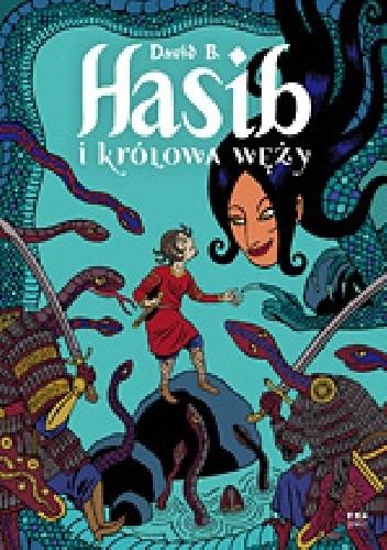 Okładka książki Hasib i królowa węży