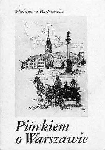 Okładka książki Piórkiem o Warszawie
