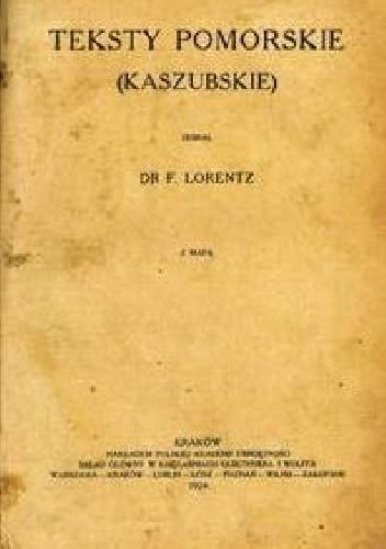 Okładka książki Teksty pomorskie (kaszubskie)