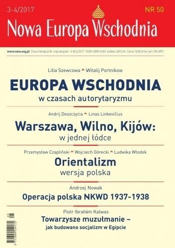 Okładka książki Nowa Europa Wschodnia nr 50   3-4/2017