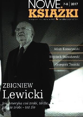 Okładka książki Nowe Książki nr 7-8 / 2017