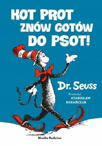 Okładka książki Kot Prot znów gotów do psot