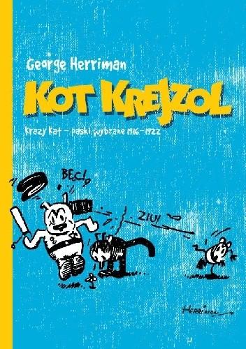 Okładka książki Kot Krejzol - Krazy Kat: Paski wybrane 1916-1922