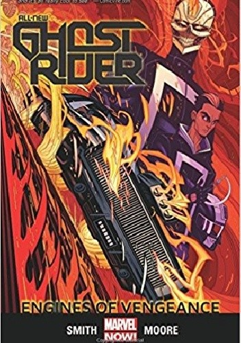 Okładka książki All-New Ghost Rider Volume 1: Engines of Vengeance