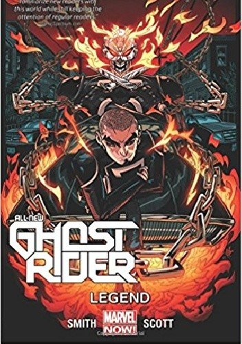 Okładka książki All-New Ghost Rider Volume 2: Legend