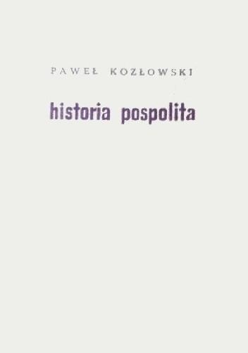 Okładka książki Historia pospolita