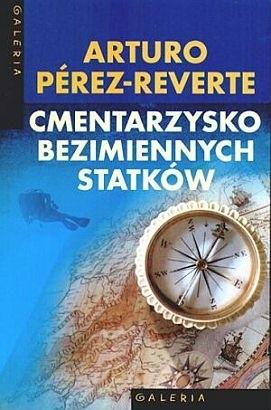 Okładka książki Cmentarzysko bezimiennych statków