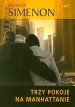 Okładka książki Trzy pokoje na Manhattanie