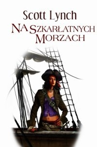 Okładka książki Na szkarłatnych morzach