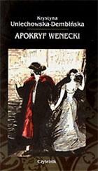 Okładka książki Apokryf wenecki