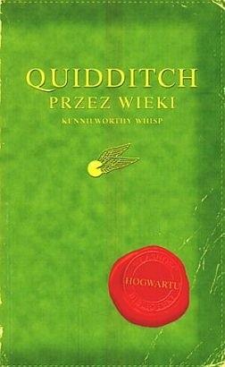 Okładka książki Quidditch przez wieki