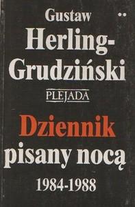 Okładka książki Dziennik pisany nocą 1984-1988. T. 1-2
