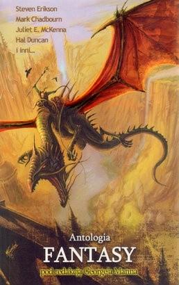 Okładka książki Antologia fantasy