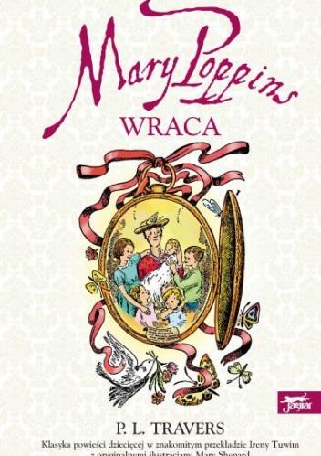 Okładka książki Mary Poppins wraca
