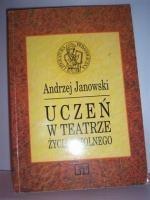 Okładka książki Uczeń w teatrze życia szkolnego