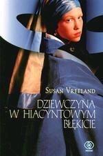 Okładka książki Dziewczyna w hiacyntowym błękicie