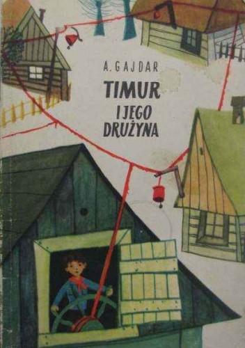 Okładka książki Timur i jego drużyna