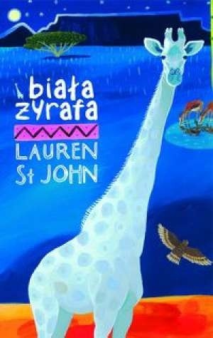 Okładka książki Biała żyrafa