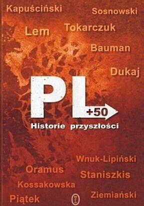 Okładka książki PL +50. Historie przyszłości