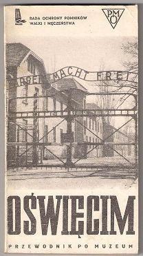 Okładka książki Oświęcim 1940-1945. Przewodnik po muzeum
