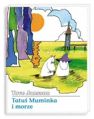 Okładka książki Tatuś Muminka i morze